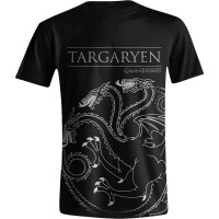 Game of Thrones T-Shirt - Haus Targaryen House Sigil...