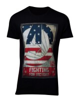 Avengers T-Shirt - Fighting for Victory (schwarz)