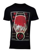 Avengers T-Shirt - Constructivism (schwarz)
