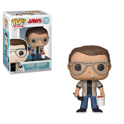 Jaws - der Weiße Hai POP! Movies PVC-Sammelfigur - Chief Brody (755)