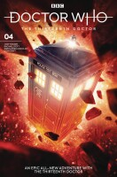 Doctor Who 13th Doctor 4 Cover B (Will Brooks)