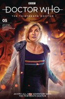 Doctor Who 13th Doctor 5 Cover B (Will Brooks)
