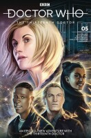 Doctor Who 13th Doctor 5 Cover C (Claudia SG Iannicello)