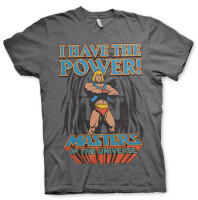 Masters of Universe T-Shirt - I have the Power (grau)