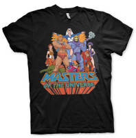 Masters of Universe T-Shirt - MOTU Group (schwarz)
