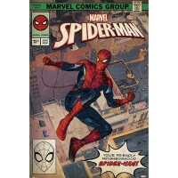 Marvel Comics Poster: Spider-Man Comic Front