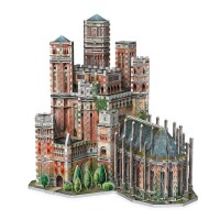 Game of Thrones 3D Puzzle Der Rote Bergfried (845 Teile)