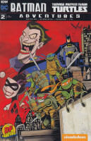 Batman Teenage Mutant Ninja Turtles Adventures 2 Dynamic...