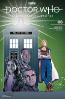 Doctor Who 13th Doctor 8 Cover C (Christopher Jones)