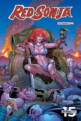Red Sonja 3 (Vol. 5) Cover A (Amanda Conner)
