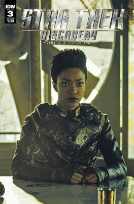 Star Trek Discovery - Succession 3 (of 4) Photo Cover