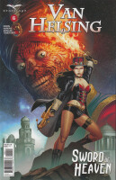 Van Helsing Sword of Heaven 6 (of 6) Cover A (Sean Chen)
