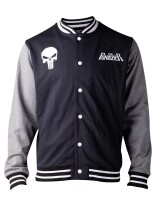 Punisher College-Jacke - Punisher Classic Skull Logo...