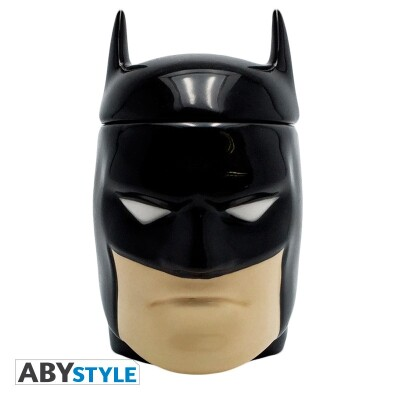 Batman Keramiktasse - Batman 3D Kopf (300 ml)
