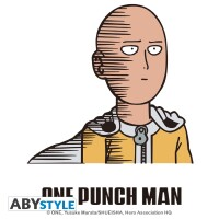 One Punch Man Trinkglas Saitama Fun (290 ml)
