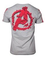 Avengers T-Shirt - Become a Legend (grau meliert)