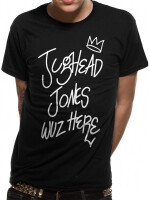 Riverdale T-Shirt - Jughead Jones wuz here (schwarz)