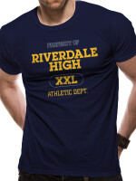 Riverdale T-Shirt - Riverdale High Logo (navy)