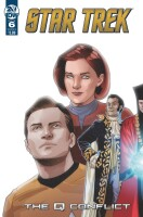 Star Trek - The Q Conflict 6 (of 6) Cover A (David Messina)