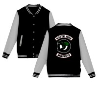 Riverdale College-Jacke - South Side Serpents (schwarz/grau)
