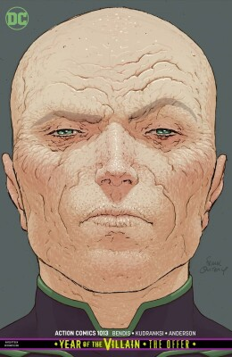 Action Comics 1013 (Vol. 1) Card Stock Variant (Frank Quitely) Year of the Villain