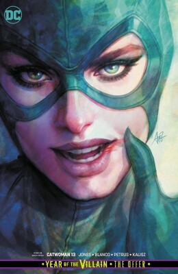 Catwoman 13 (Vol. 5) Variant (Stanley Lau) Year of the Villain