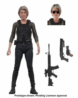 Terminator Dark Fate Actionfigur: Ultimate Sarah Connor