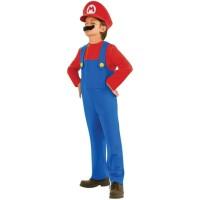 Super Mario Kostüm (verschiedene Größen)