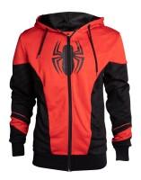 Spider-Man Kapuzenjacke - Red & Black Outift Hoodie...