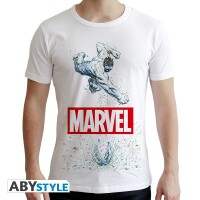 Marvel Comics T-Shirt - Hulk Smash (weiß)