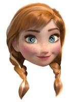Disney Frozen Maske (Pappe) Anna