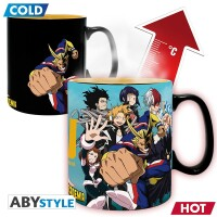My Hero Academia Keramiktasse - Group Heat Change (460 ml)