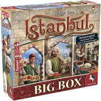 Istanbul Big Box (Grundspiel und 2 Erweiterungen)