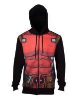 Deadpool Kapuzenjacke - Sublimated (schwarz)