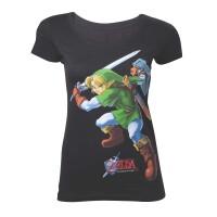 Legend of Zelda Damen T-Shirt (Girlie): Ocarina of Time...