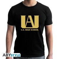 My Hero Academia T-Shirt - U.A. High School Logo (schwarz)