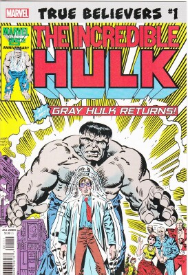 True Believers: Hulk - Gray Hulk returns