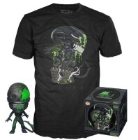Alien Funko POP! Figur + T-Shirt Set - Xenomorph