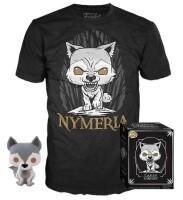 Game of Thrones Funko POP! Figur + T-Shirt Set - Nymeria