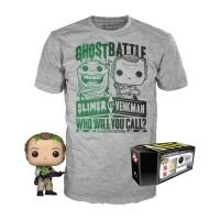Ghostbusters Funko POP! Figur + T-Shirt Set - Dr. Peter...