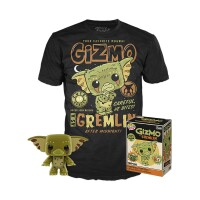 Gremlins Funko POP! Figur + T-Shirt Set - Gizmo the Gremlin