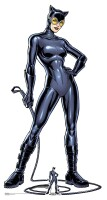 Batman Pappaufsteller (Stand Up) - Catwoman mit Peitsche...