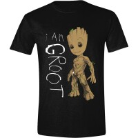 Guardians of Galaxy 2 T-Shirt - I am Groot Scribbles...