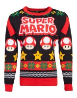 Nintendo Super Mario Pullover im Weihnachtslook - Mario...