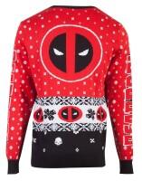 Deadpool Pullover im Weihnachtslook - Deadpool Knitted...