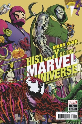 History of Marvel Universe 5 (of 6) Variant