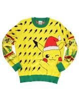 Pokemon Pullover im Weihnachtslook - Christmas Pikachu...