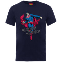 Superman Jugend Youth T-Shirt - Last Son of Krypton (navy)