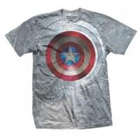 Captain America T-Shirt - Captain America Shield Sublime...