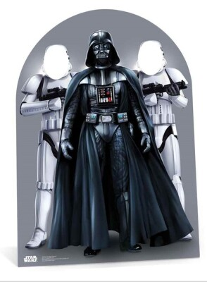 Star Wars Pappaufsteller (Stand Up / Stand In) - Darth Vader and Stormtroopers Child Size (133 cm)